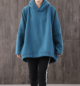 Loose Large pockets Hooded Women Winter Short Oversize Jacket