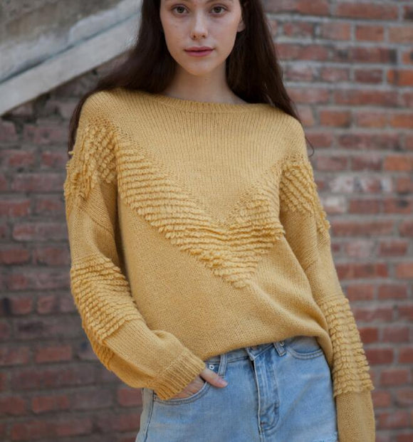 O Neck Short loose Women Tops Woolen Knit Sweater