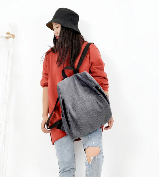 Simple Casual Large Women Travel Bag Shoulder Bag