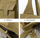 Cotton Simple Women Travel Bag Shoulder Bag
