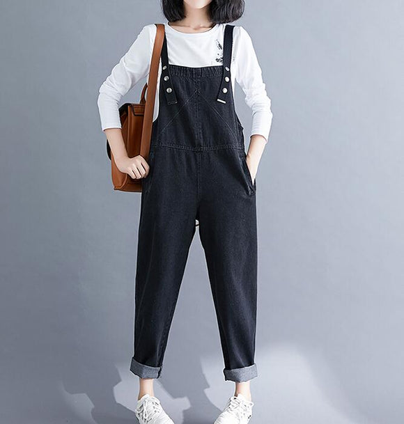 Denim Spring Overall Women Casual Jumpsuits PZ97251