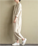 women linen Jumpsuit