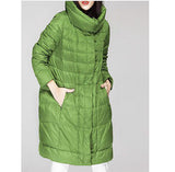 Women Winter Duck Down Coat Jacket Hooded Coat Plus Size