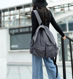 Casual Cotton Simple Women Travel BackPack Shoulder Bag