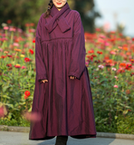 Thick Fleece Long Sleeve Cotton Dress Winter Women Dress XSYCP9201229