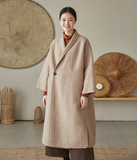 Cashmere Coat Handmade Long Warm Long Women Wool Coat Jacket