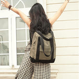 Simple Style Women Backpack Shoulder Bag