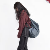 Large Simple Style Women Backpack Casual Shoulder Bag
