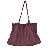 Soft Shoulder Bag Simple Style Women Hand Bag Shoulder Bag
