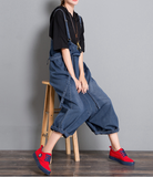 Denim Casual Spring Denim Overall Loose Women Jumpsuits