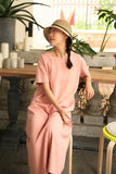simplelinenlife-Knitted-flax-casual-summer-long-women-dresses