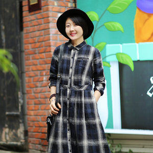simplelinenlife-Linen-Sleeves-Autumn-winter-Women-Dresses