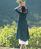 Long Loose Summer Cotton Linen Spring Women Dresses