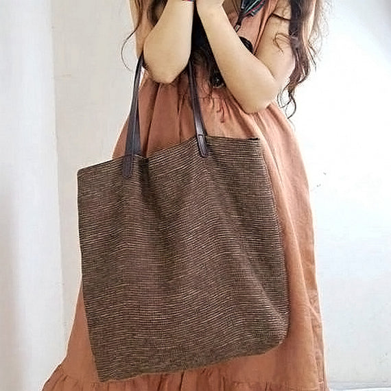 Travel Simple Style Women Tote Shoulder Bag