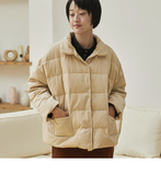 Short Women Down Coat Winter Down Jacket