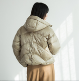 Hooded Short Women Winter Loose Plus size Down Jacket Women Down Coats Any Size
