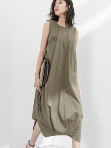women-sleeveless-tunic-summer-linen-cotton-dresses (1)