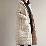 White-Loose-Fitting-women-Winter-90% -Duck-Down-Jackets-Down-Jacket-Women-Down-Coat-Plus-Size