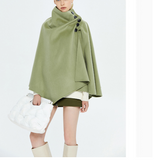Wool Winter Women Cloak Winter  Women Wool Coat Jacket