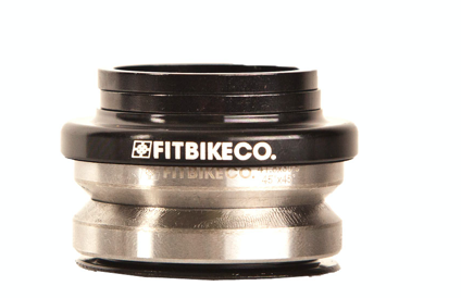 FIT HEADSET 41.8mm 45/45, BLACK