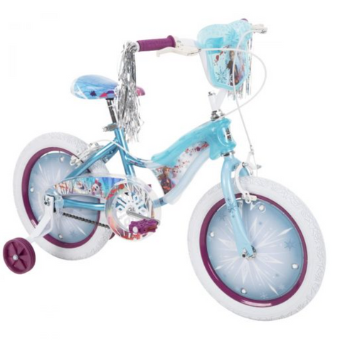 Disney Frozen 2 Girls' Bike with Lights, 16-inch