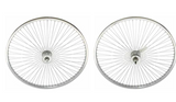 "26"" 144 Spoke Wheel Set. Front and Back Coaster Wheel"