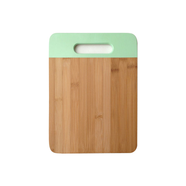 Bamboo Cutting Board in Mint