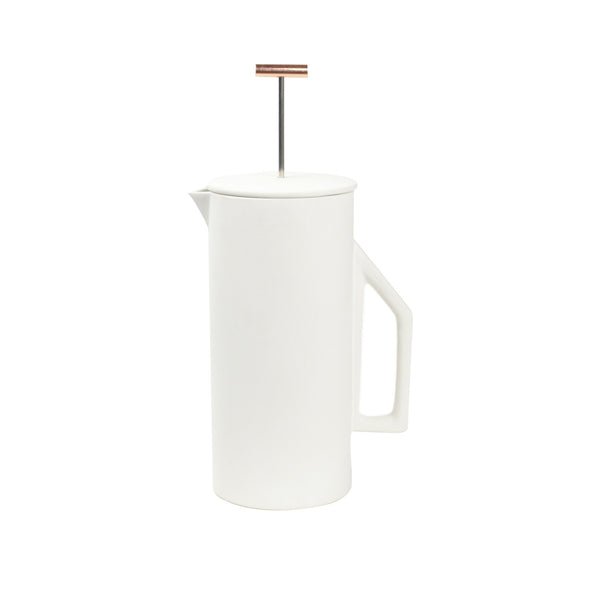 French Press White (850ML)