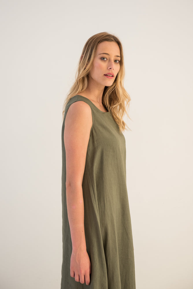 Clifton Curved Hem Dress