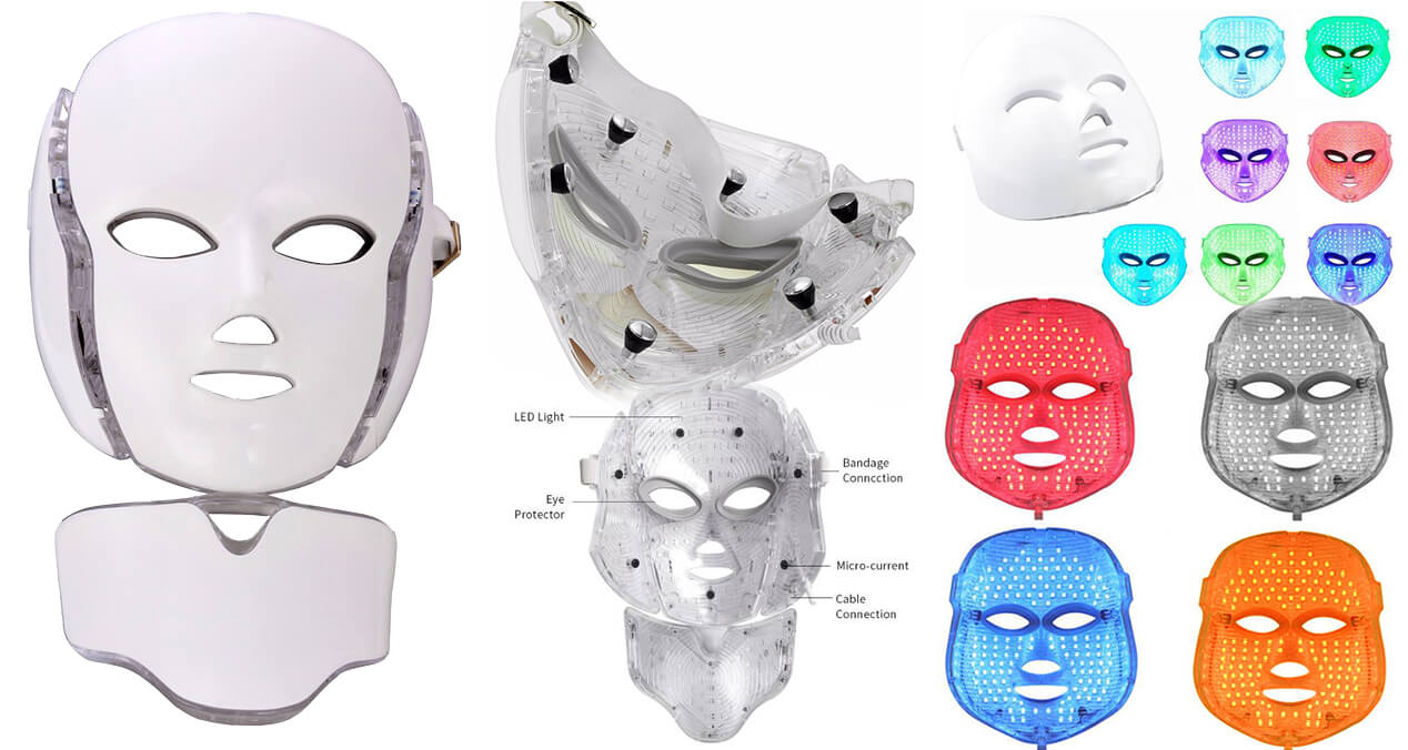 best rated home led face mask