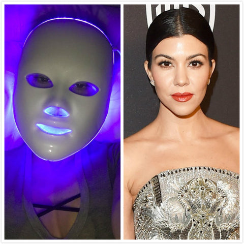 Kourtney Kardashian LED Face Mask