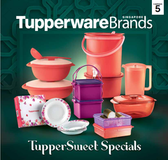 2020 May Tupperware Singapore Collection