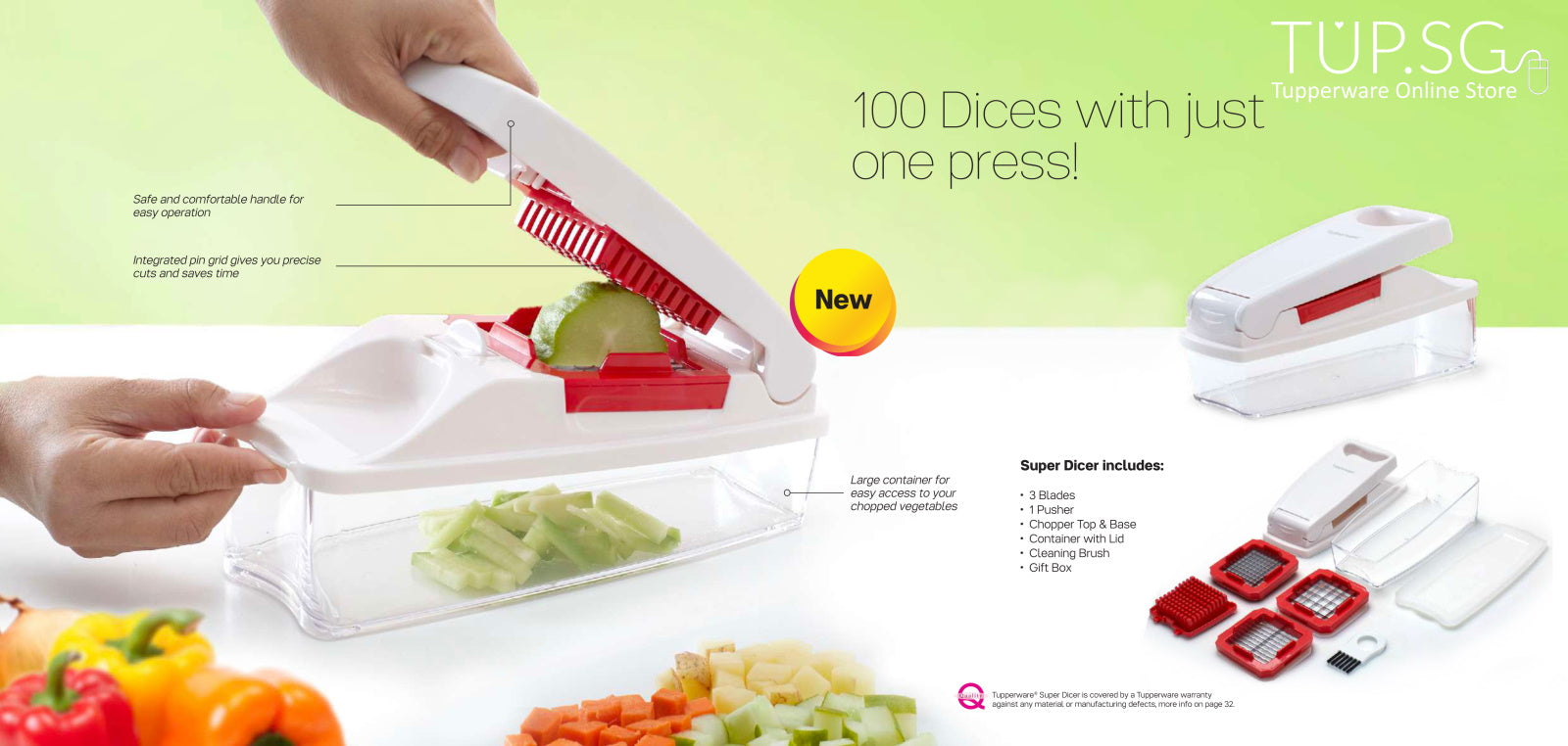 Super Dicer by Tupperware Singapore