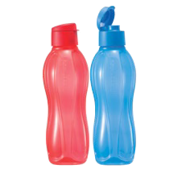 Eco Bottle Set (1L) Flip Top