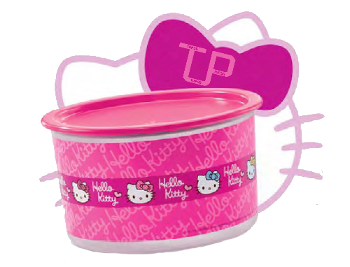 Tupperware Hello Kitty One Touch Topper Medium 1.4L