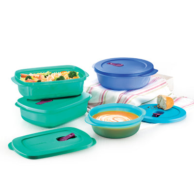 11134817 Tupperware  Singapore Exclusive CrystalWave Plus Set (4)
