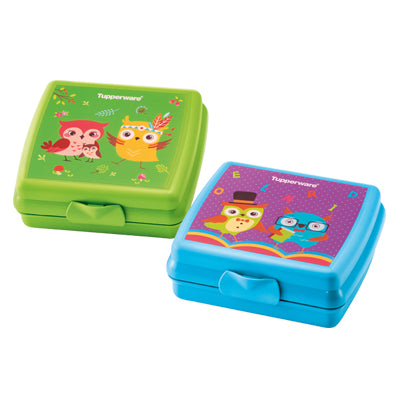 11134934 Tupperware Owl-Some Sandwich Keeper