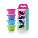 Tupperware 1113 1526 - Pretty Pastel with Gift Box (4) 650ml