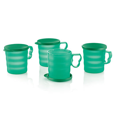 Emerald Mugs & Seal (4) 350ml