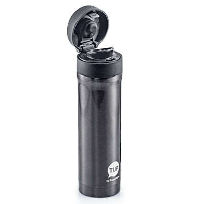 Tupperware Metallic Thermal Flask - 420ml (Stormy Silver)