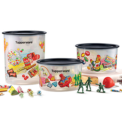 Tupperware Childhood Memories One Touch Set