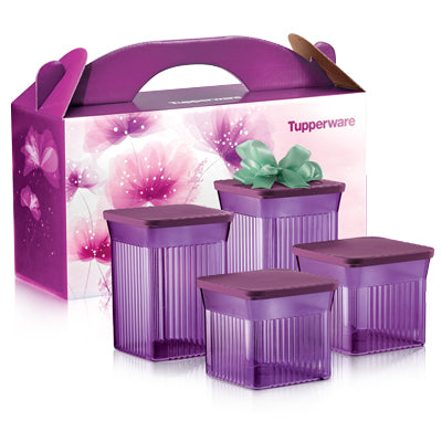 Tupperware Singapore | Elegant Square Set