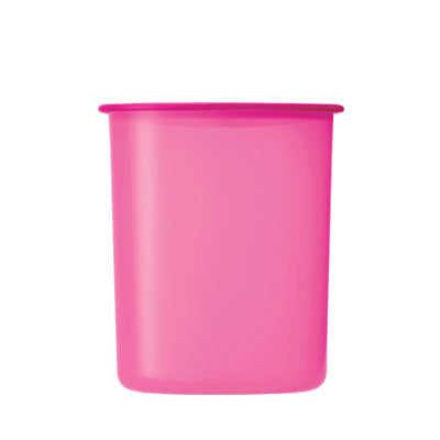 One Touch Canister Small (1) 2.0L - Pink | Tupperware Singapore
