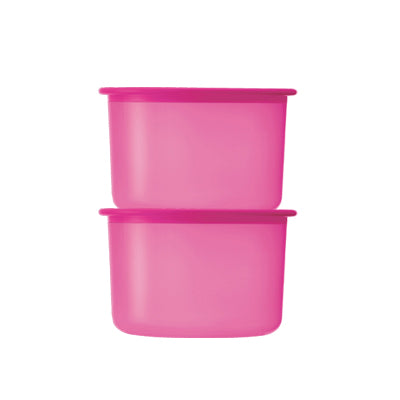 One Touch Topper Junior (2) 600ml - Pink  | Tupperware Singapore