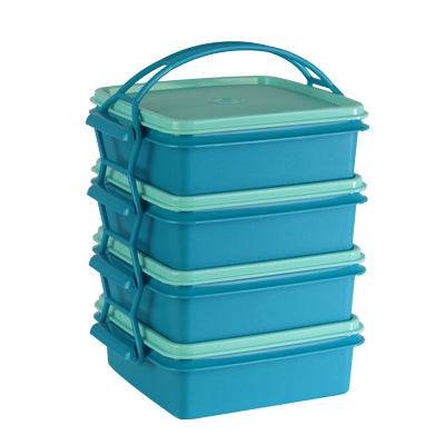 Tupperware Singapore | Small Goody Box with Cariolier (4) - Blue