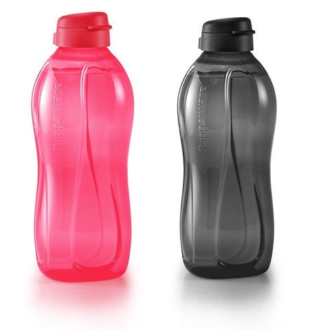 Giant Eco Bottle (2) 2.0L (Cherry/Black)