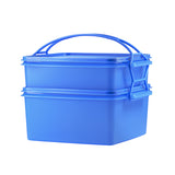 Tupperware Singapore | Jumbo Goody Box with Cariolier  Blue
