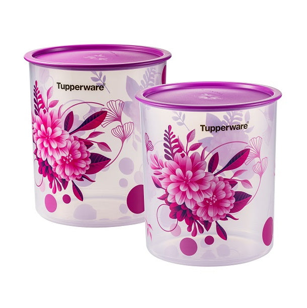 Camellia One Touch Canister Large (2) 4.3L | Tupperware Singapore