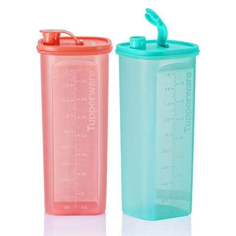 Fridge Water Bottle (2) 2.0L - Watermelon and Mint | Tupperware Singapore