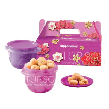 2021 Chinese New Year Cookies Gift Set (Halal حلال )  | Tupperware Singapore